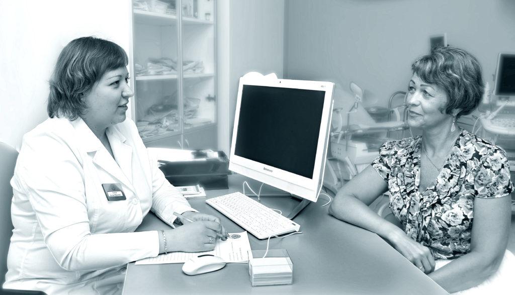 Кабинет гинеколога в Лобне в клинике Семья
