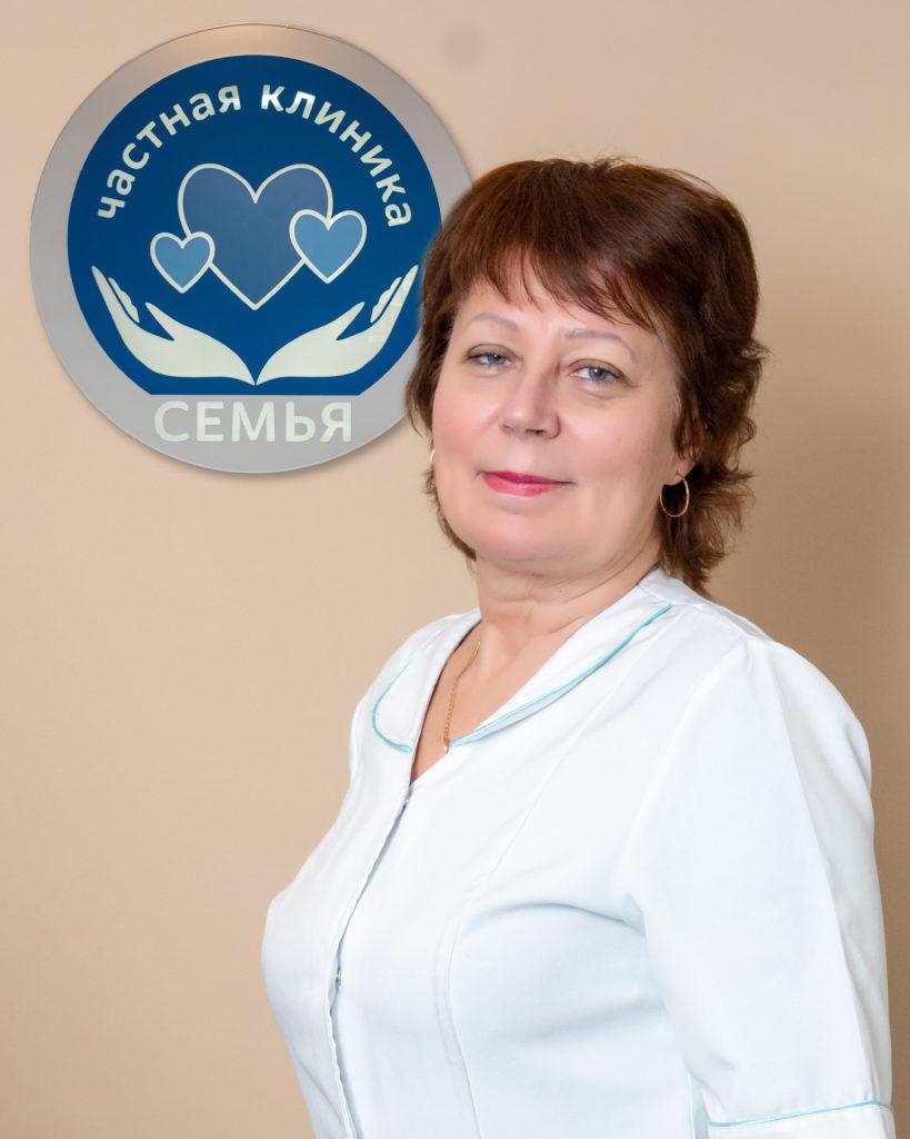 Стрельчук Алла Ивановна - гинеколог клиники Семья в Лобне